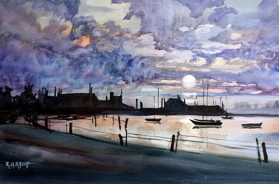 Punta Gorda Sunset Painting