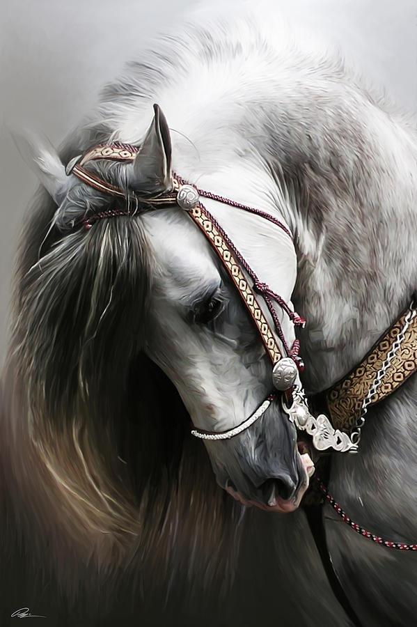 Horse Digital Art - Pura Spanish Elegance by Paul Miners