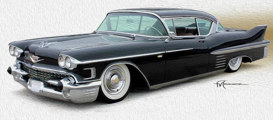 Cadillac Photograph - Pure Classy by Felipe Gomez