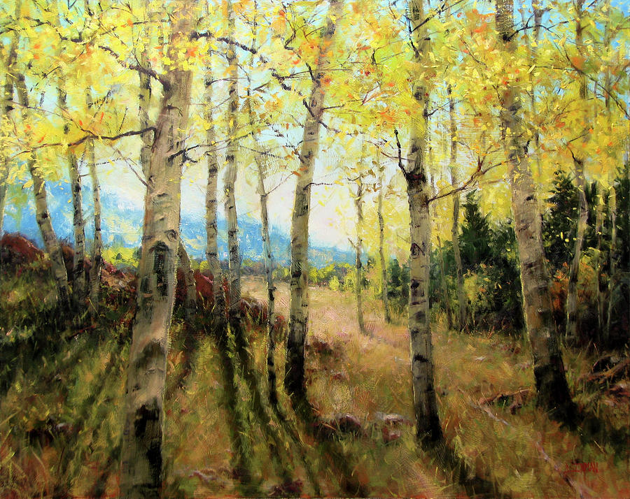 Beautiful Painting - Pure Gold by Bill Inman