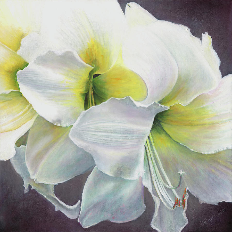 Floral Painting - Pure potential by Helen White