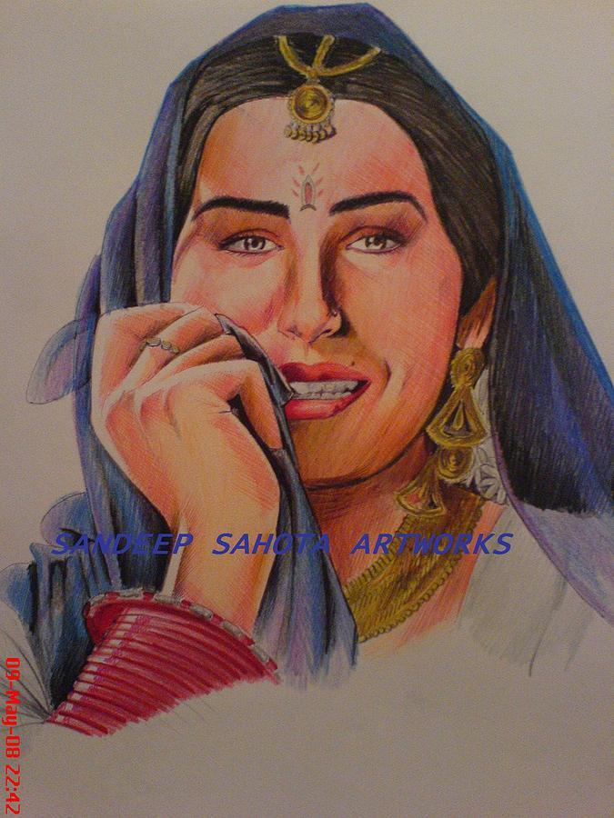 Tom Cruise Painting - Pure Smile by Sandeep Kumar Sahota