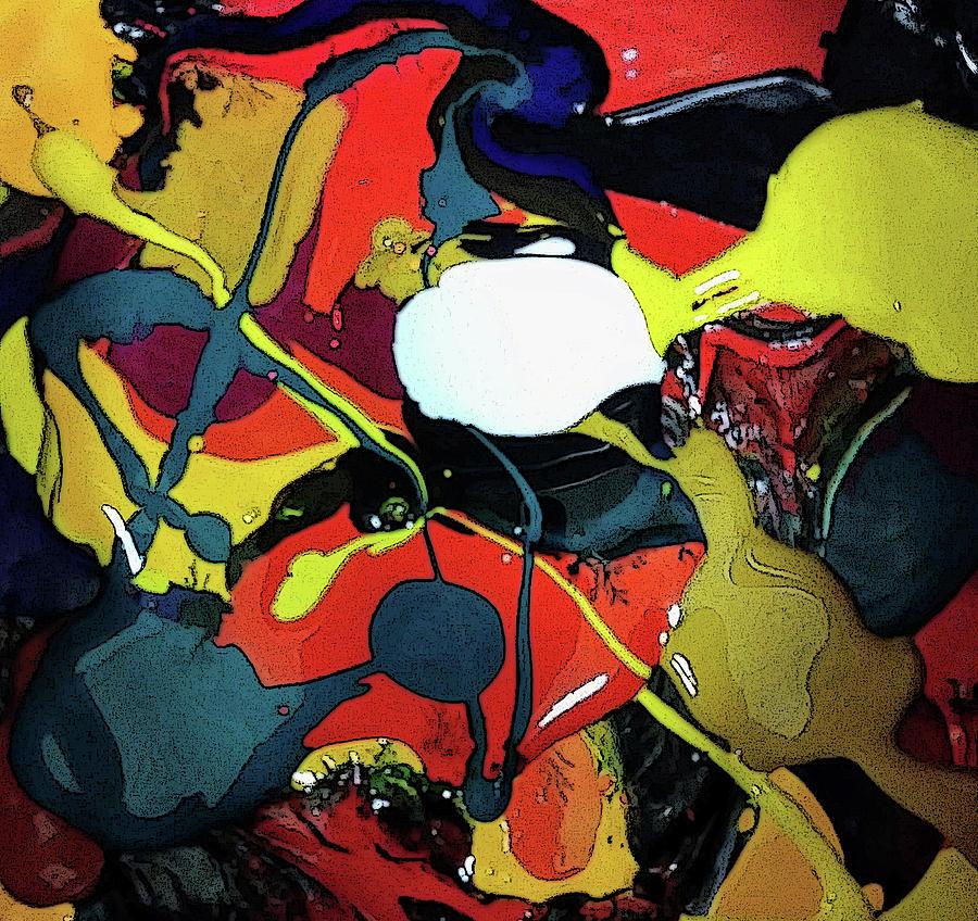 Bright Pyrography - Purge Swirl 2 by Tim Welch