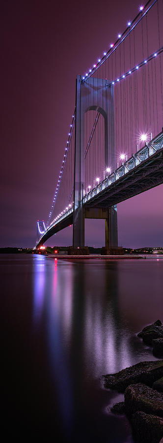 Purple Bridge by Edgars Erglis