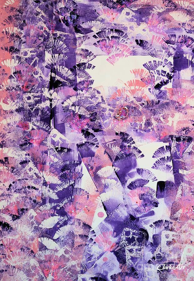 Purple Brush-Up by Jean Clarke