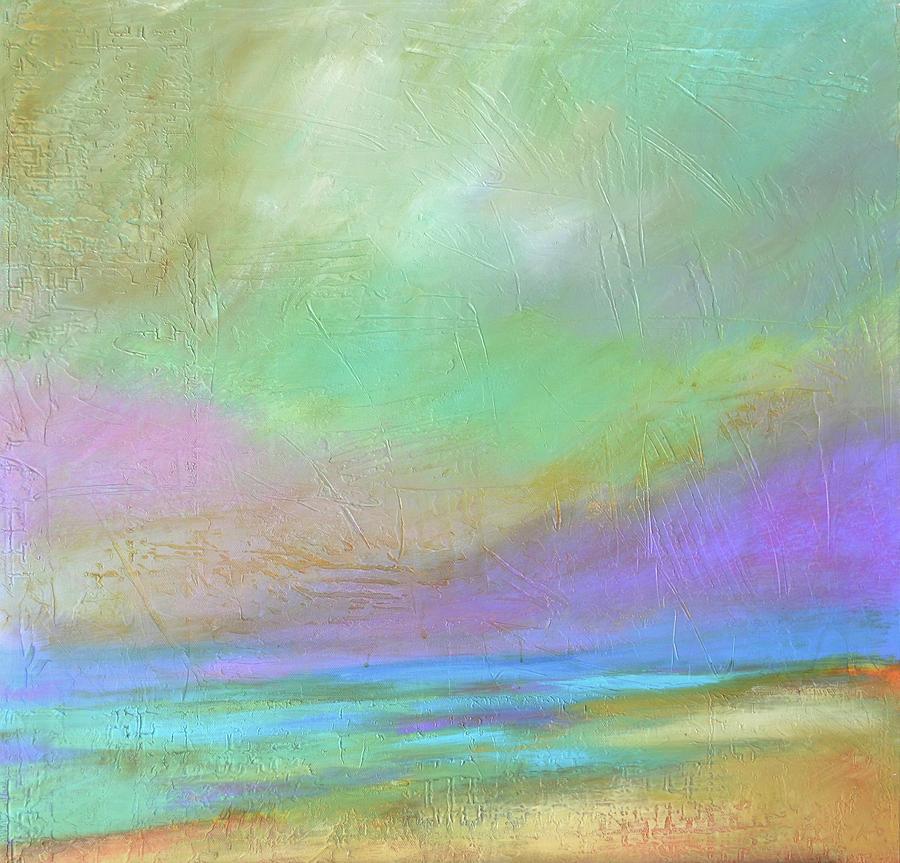 Purple Painting - Purple Dawn by Filomena Booth