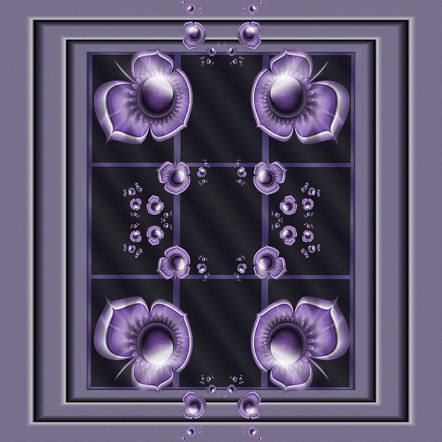 Purple Dimensions by Karla White