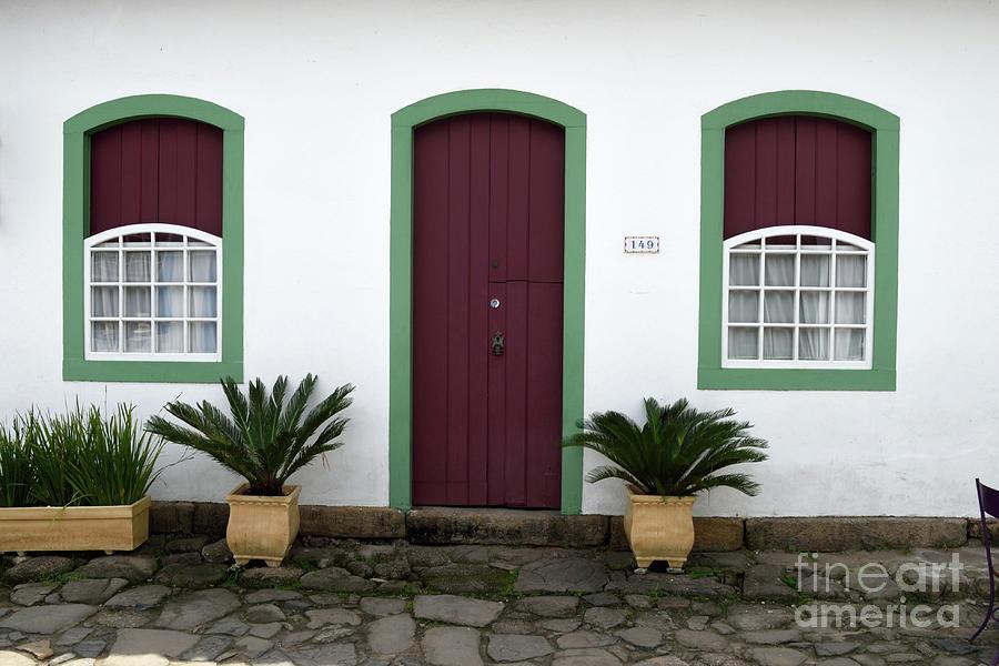 Purple Door Green Framesparaty By Tom Wurl