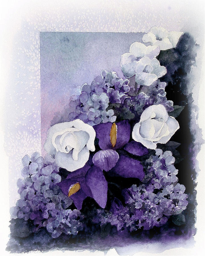 Purple Elegance by Lael Rutherford