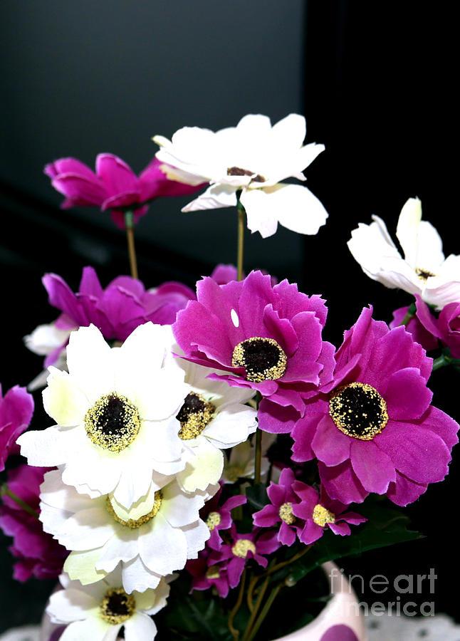 Purple Photograph - Purple Flowerspurple Flowers by Artur Gjino