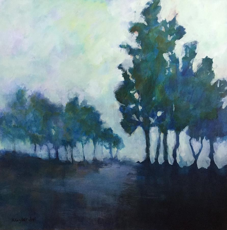 Purple Forest by Karen Kuykendall