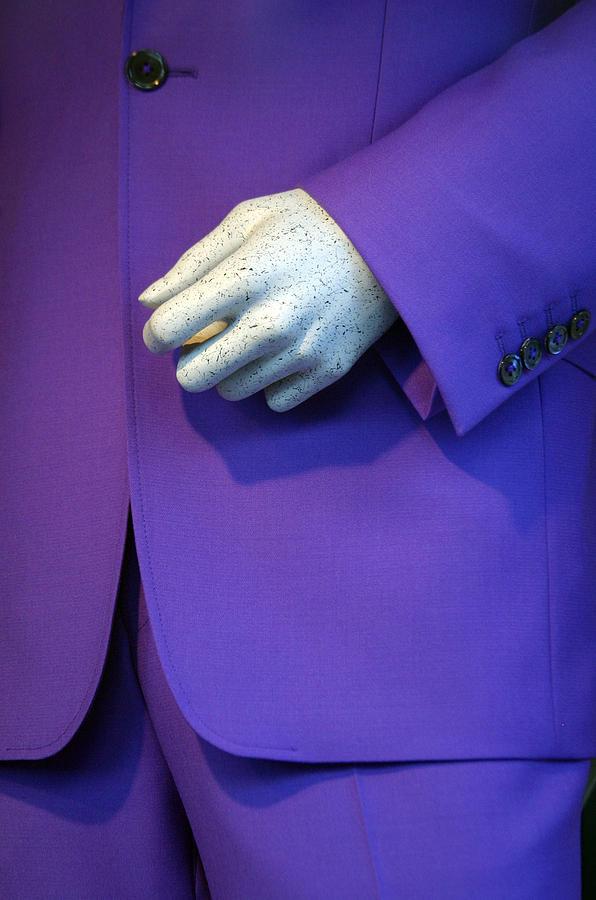 Photographer Photograph - Purple Hand Purple Hand by Jez C Self