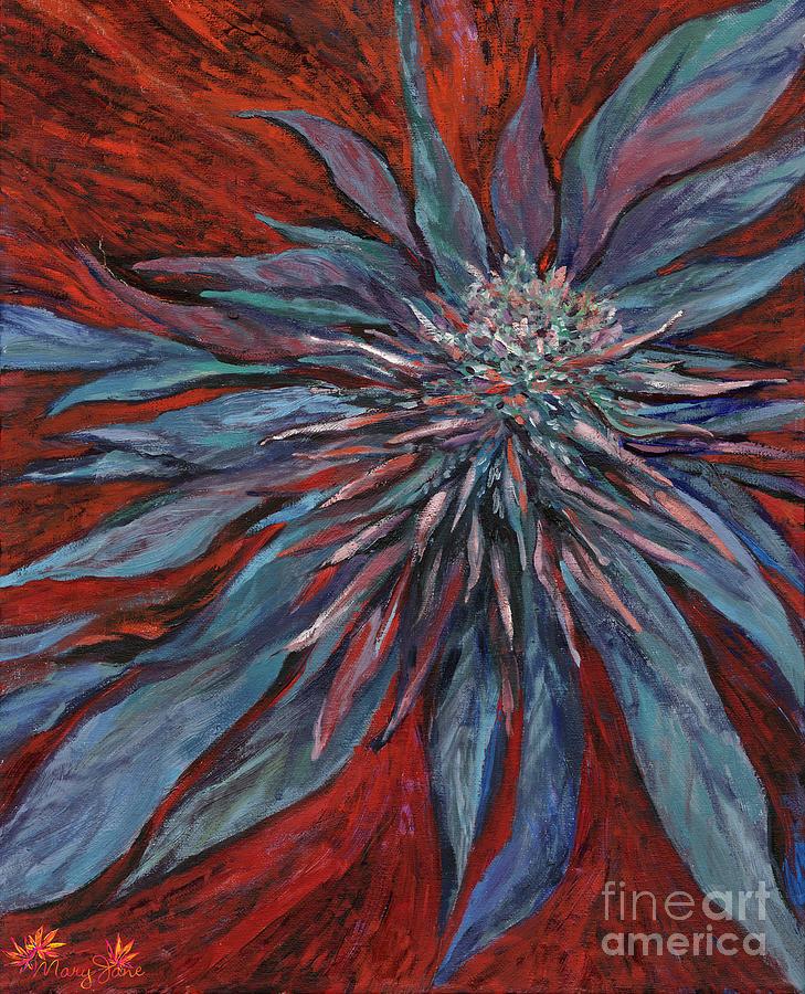 Marijuana Painting - Purple Haze by Mary Jane