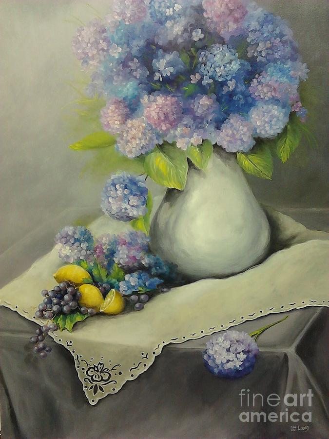 Floral Painting - Purple Haze by Patricia Lang
