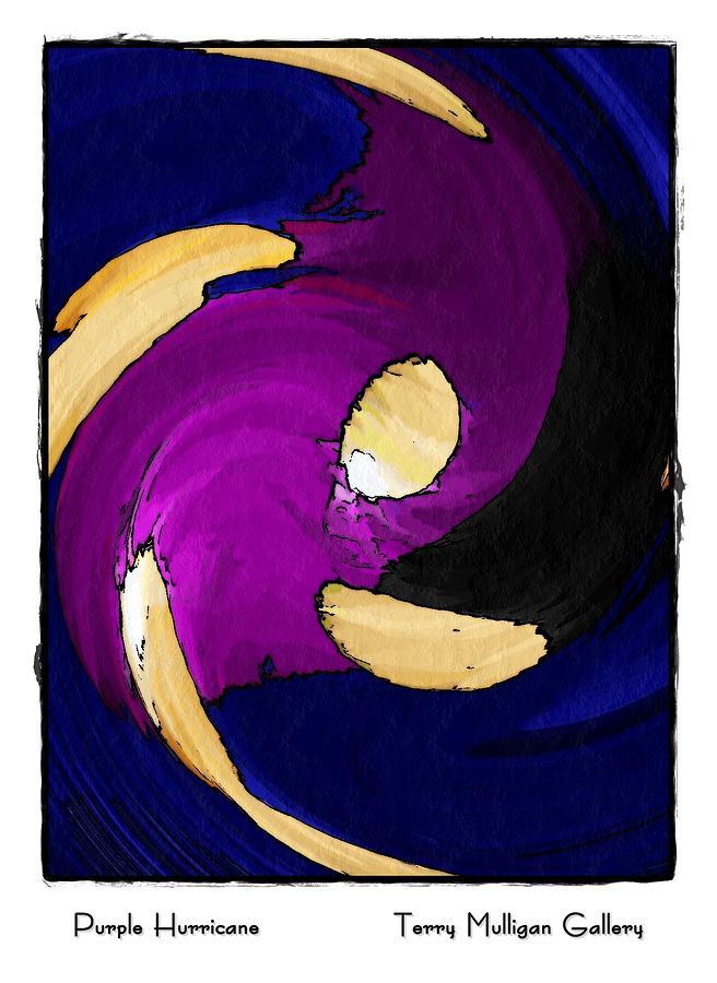 Purple Hurricane by Terry Mulligan