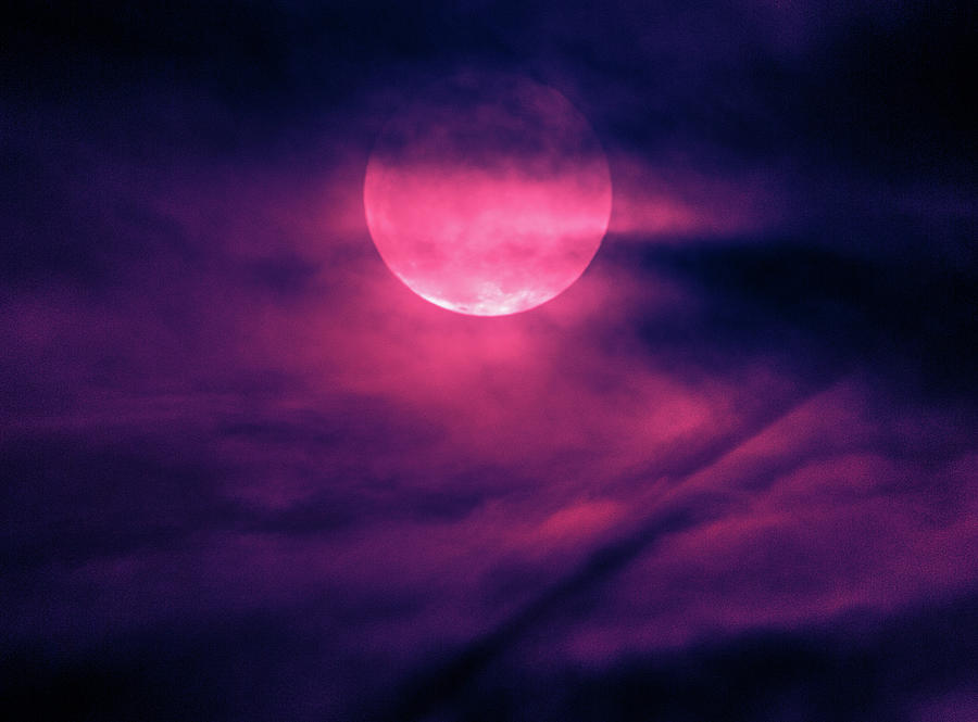 Purple  Moon by Tyson Kinnison