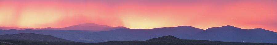 New Mexico Landscape Photograph - Purple Mountains  by Look Visions