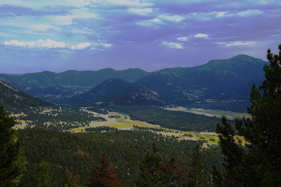 Rocky Mountains Photograph - Purple Mountains Majesty by Richard Henne