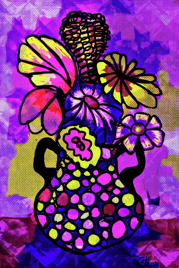 Purple Party Digital Art