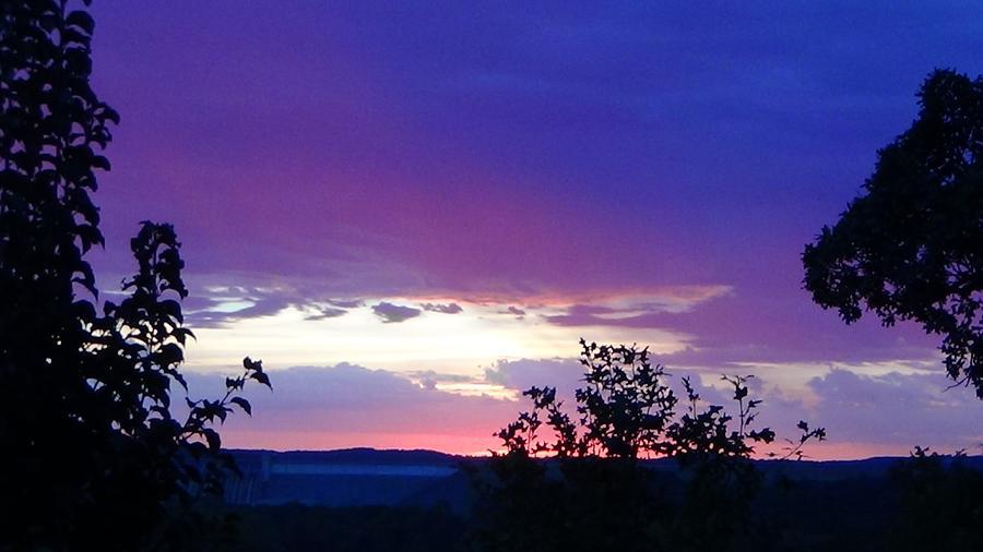 Purple Sunset Photograph - Purple Passion by Toni Berry