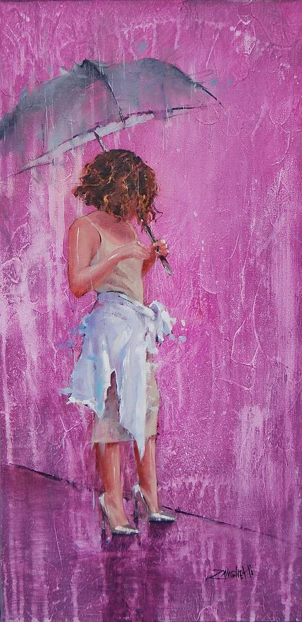 Purple Rain by Laura Lee Zanghetti