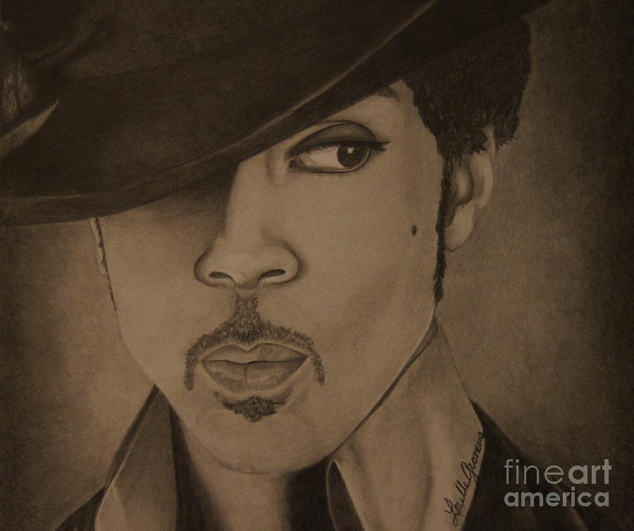 Singer Drawing - A Legend by Lorelle Gromus