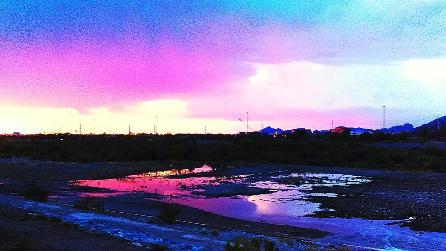 Landscape Photograph - Purple Rain by Rebekah Arthur