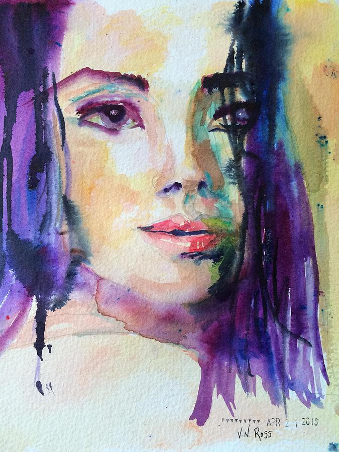 Purple Rain by Vicki Ross