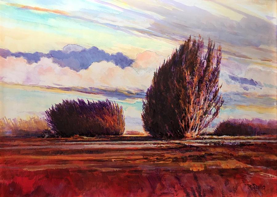Purple Redlands by Ronald Shelley