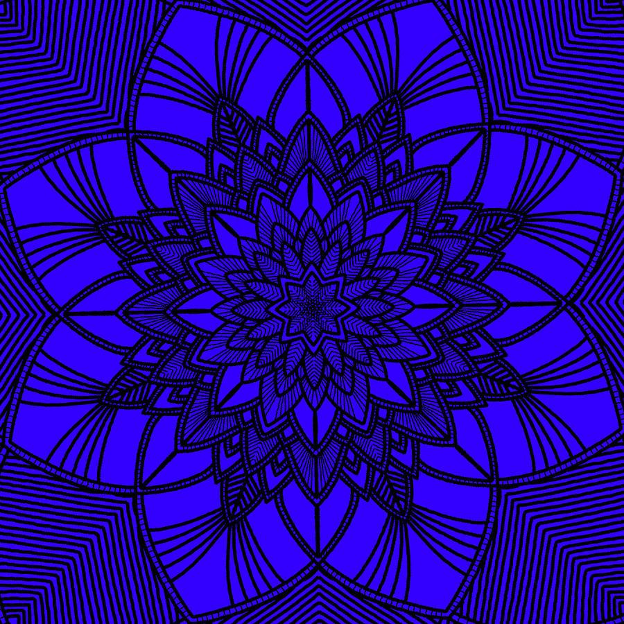 Purple Spiritual by Lucia Sirna