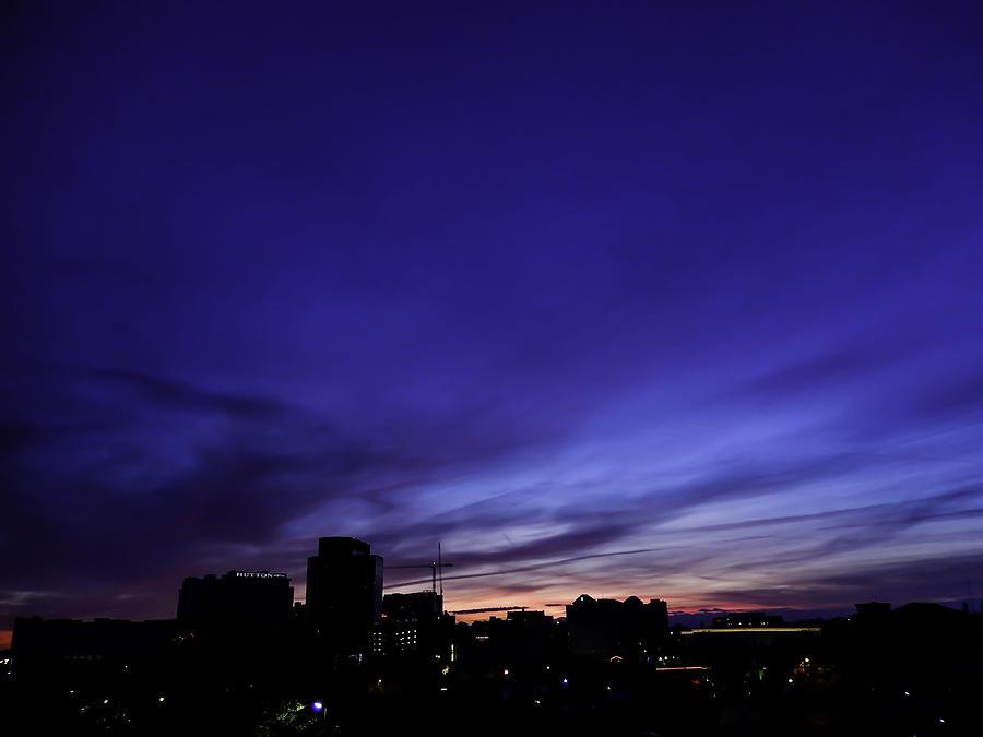 Purple Photograph - Purple Sunrise Oct 2015 by Kelly E Schultz