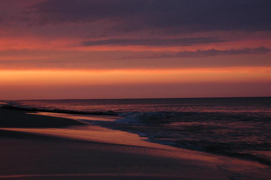 Sunset Photograph - Purple Sunset by See Me Beautiful Photography
