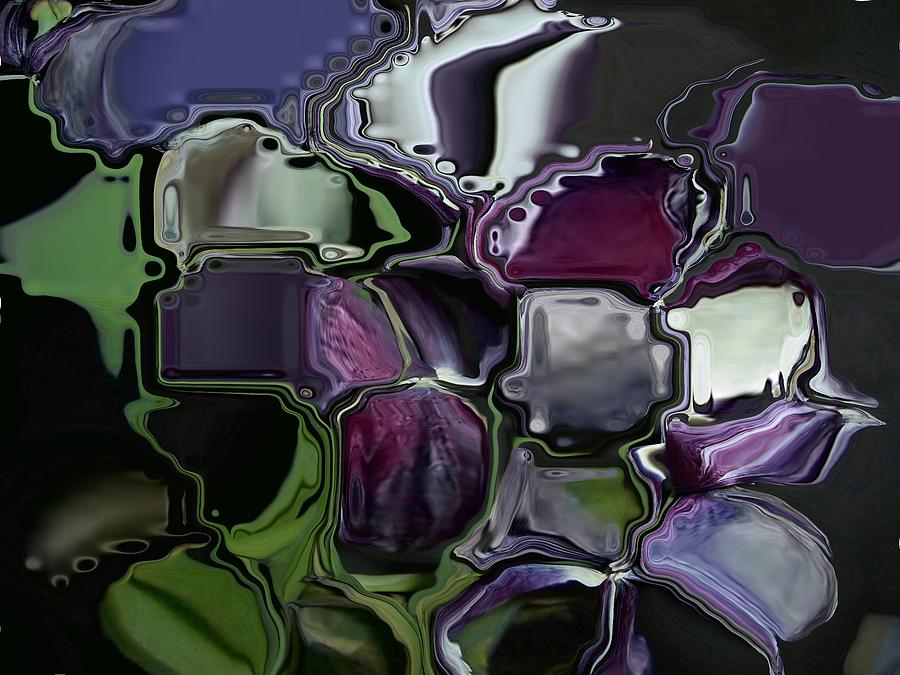 Lavender Photograph - Purple Too Lips by Patricia A Williams