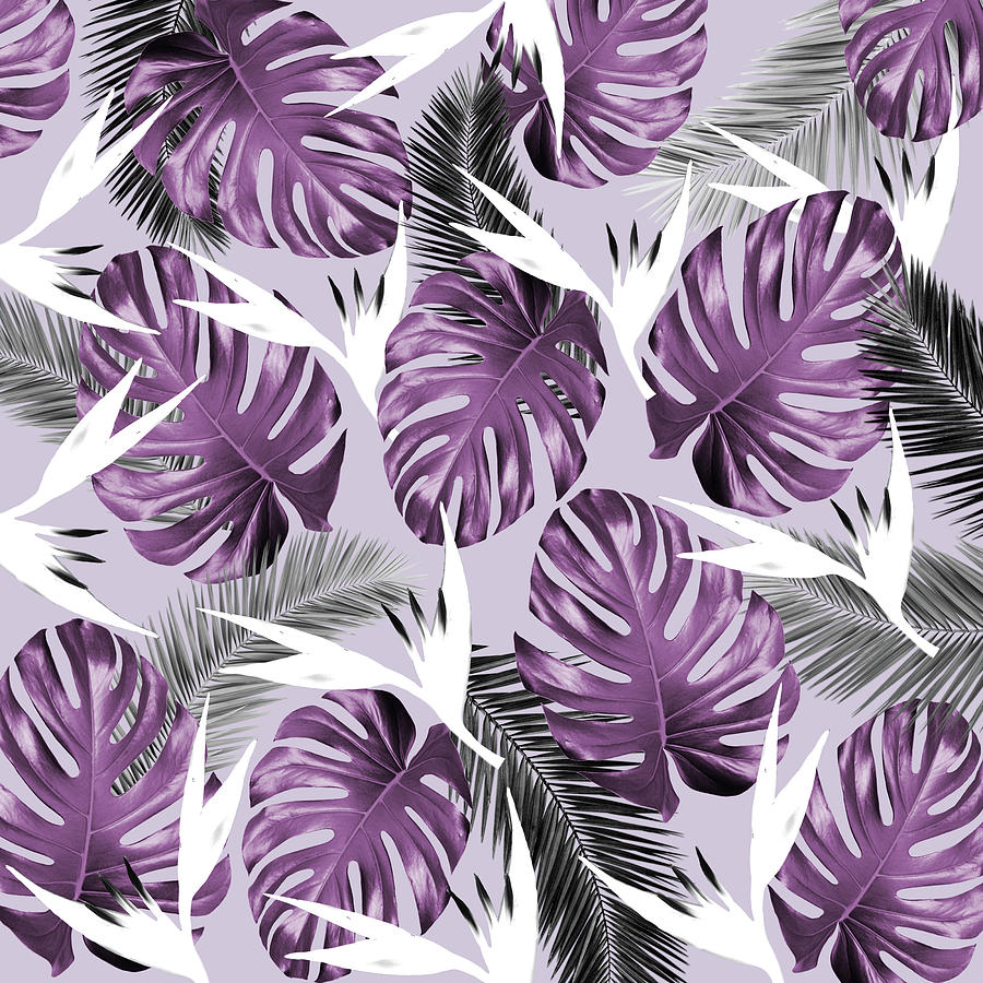 Purple Tropics Photograph