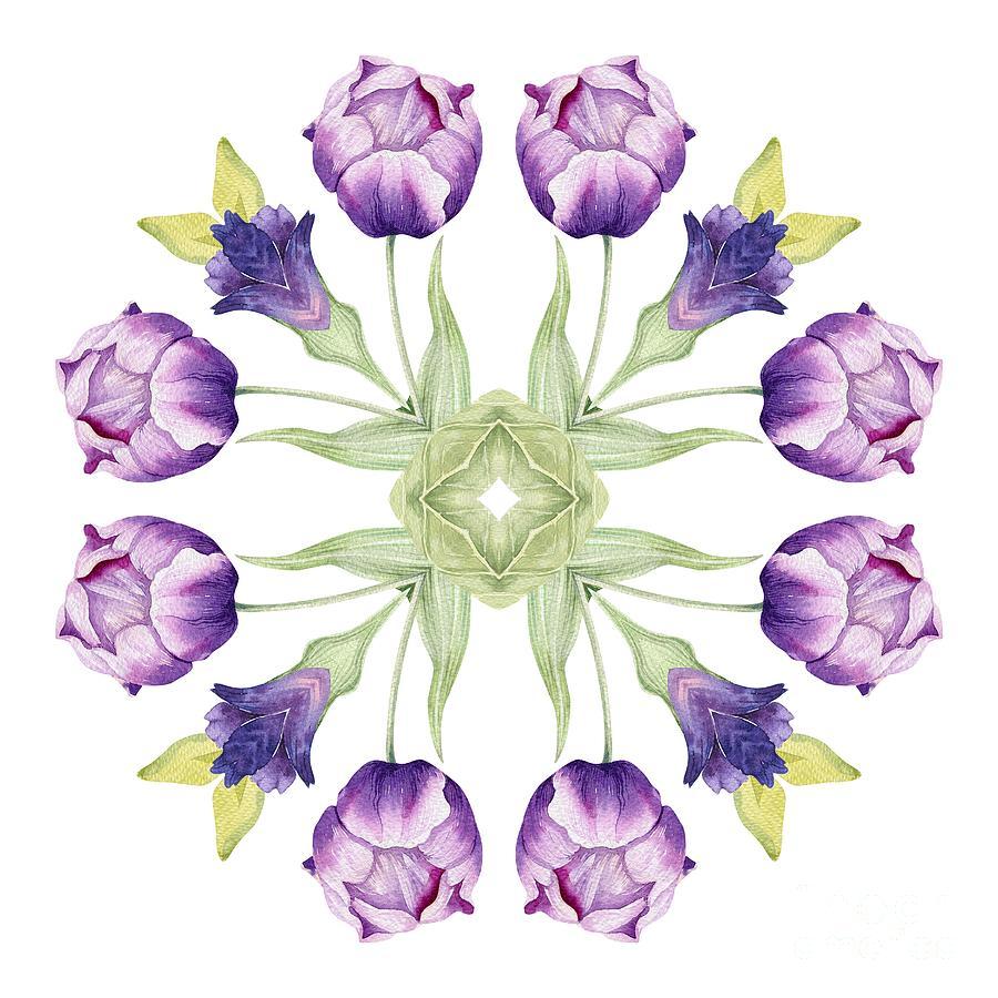 Image result for tulip mandala
