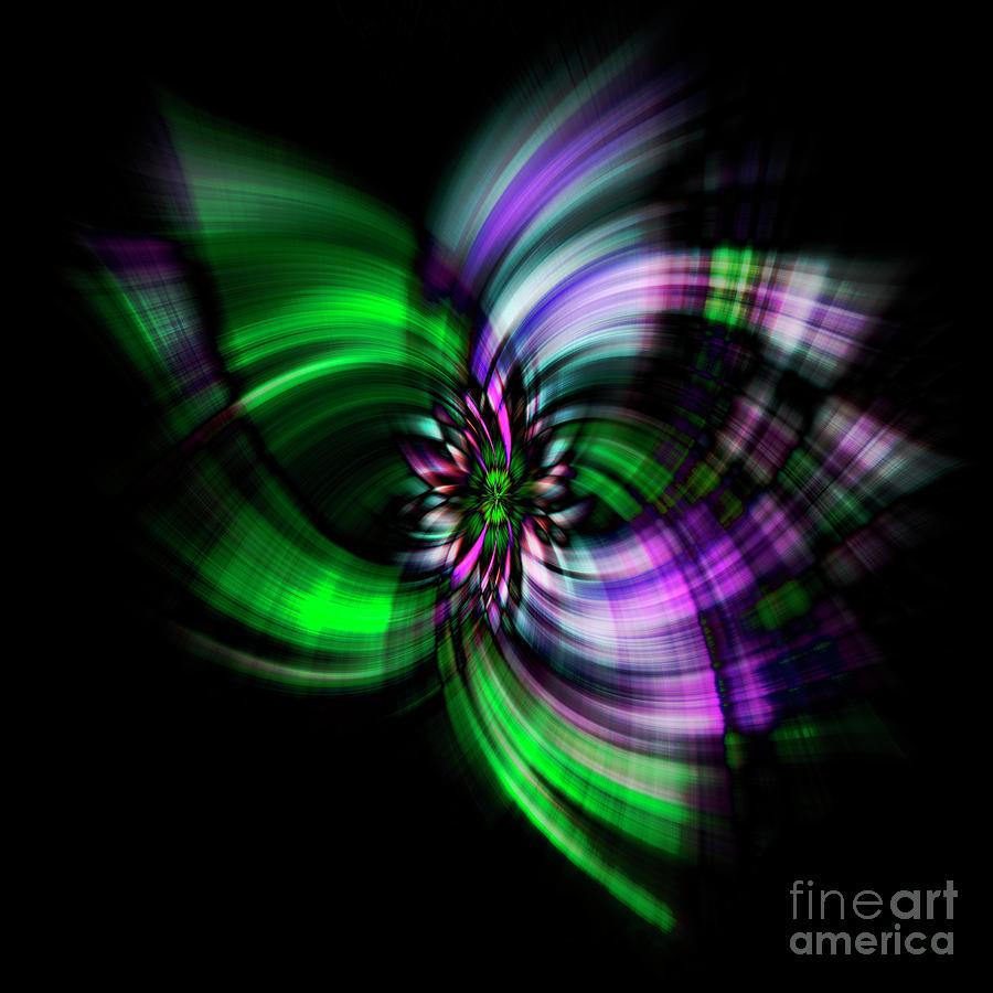 Purple Twirl by Kim Andelkovic
