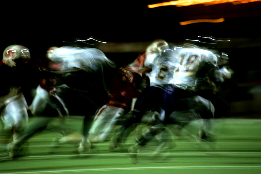 Sports Photograph - Pursuit by Tom Fant