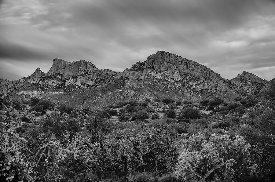 Pusch Ridge At Dusk Photograph