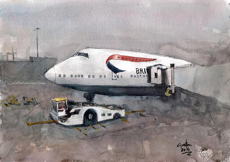 Push Back 747 Style London by Gaston McKenzie