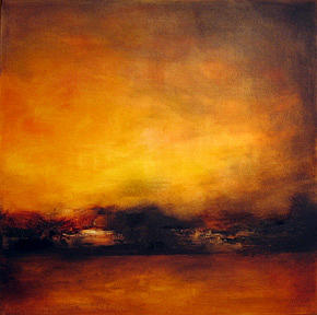 Pushing Through May And August II Painting by Sharon Gordon