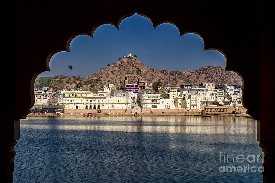 Pushkar Lake by Yew Kwang