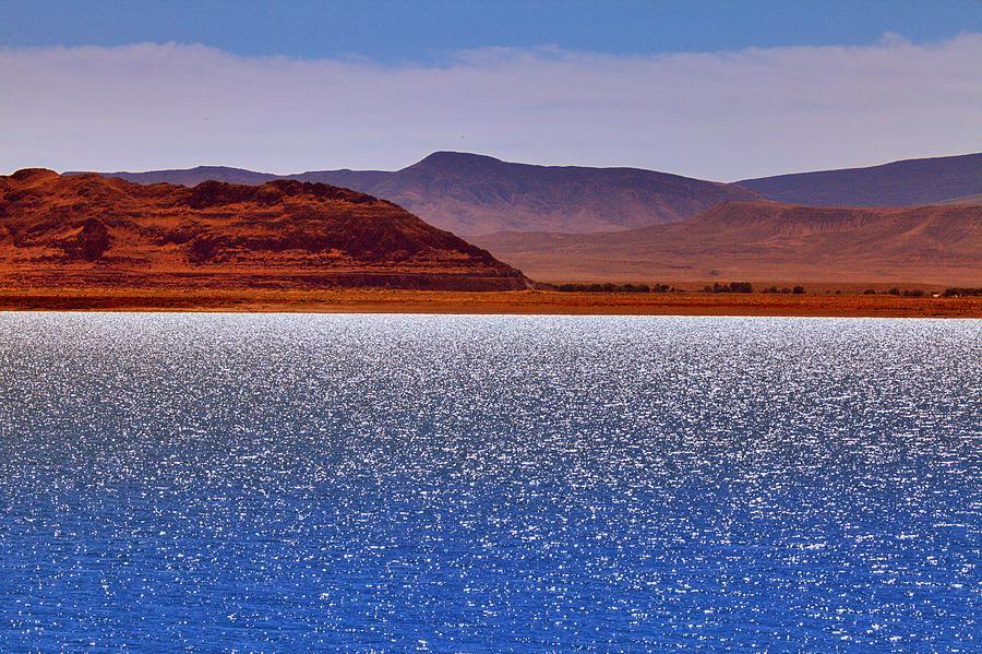Pyramid Lake Photograph - Pyramid Lake Winds by SB Sullivan