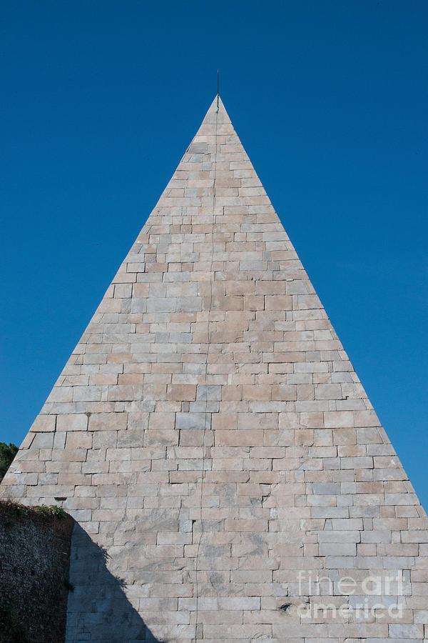 Aurelian Walls Photograph - Pyramid Of Caius Cestius by Joseph Yarbrough