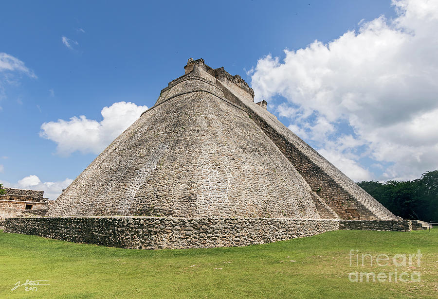 Pyramid Of The Magician Photograph by Jeffrey Stone