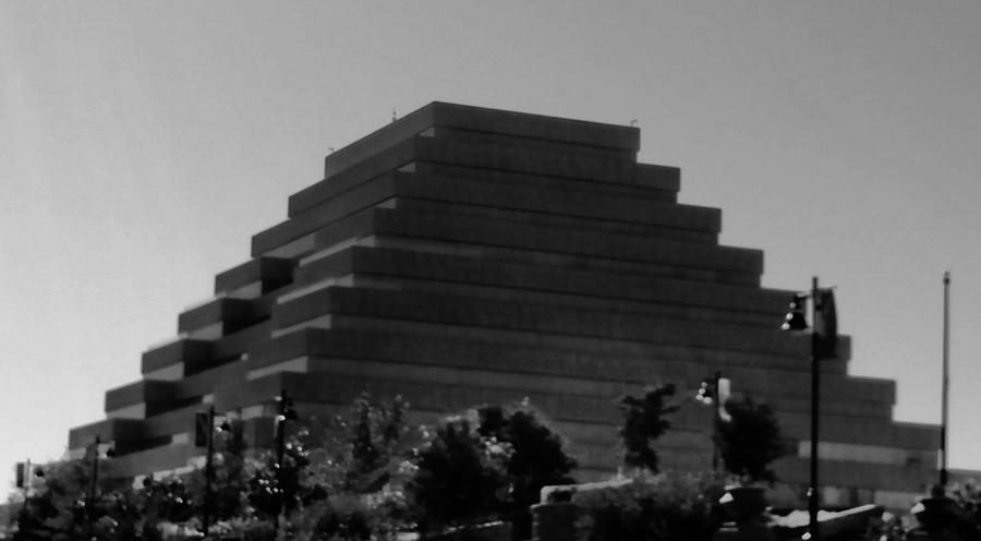 Pyramid Photograph - Pyramid by Peggy Leyva Conley
