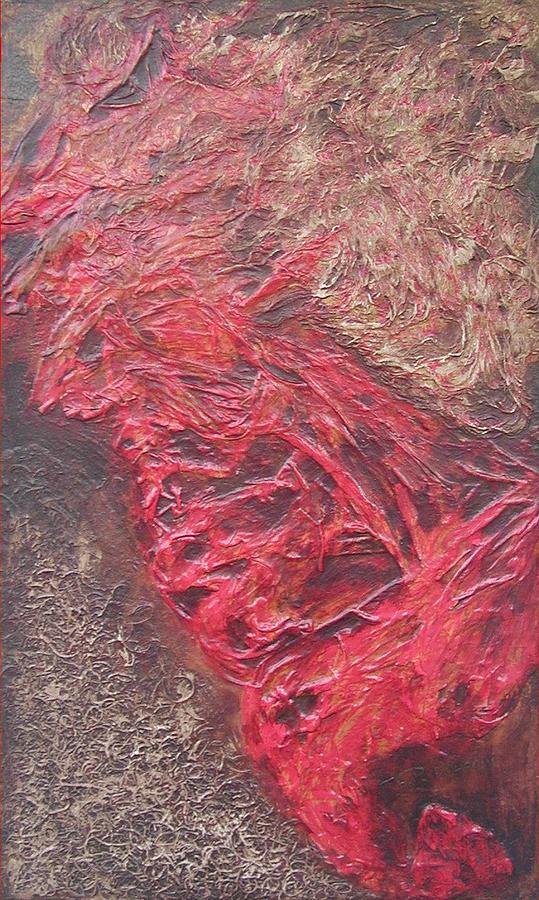 Pyrique 1  2008 Relief by Halima Echaoui