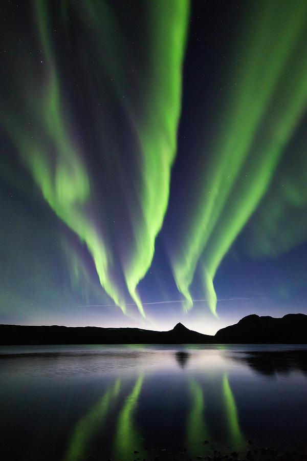 Aurora Photograph - Quad Aurora by Kolbein Svensson