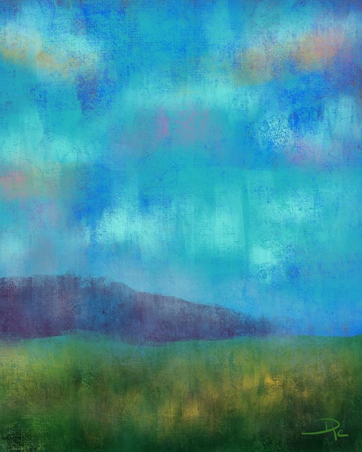 Quaint Digital Art - Quaint Countryside by David G Paul