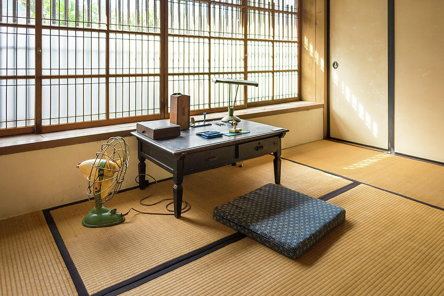 Quaint Tatami Office by Geoffrey Lewis