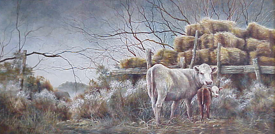 Rural Painting - Quality Time  by Patricia Carlson